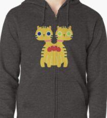Two-Headed Monster Cat T-Shirt