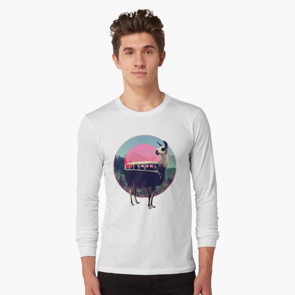 Llama Long Sleeve T-Shirt