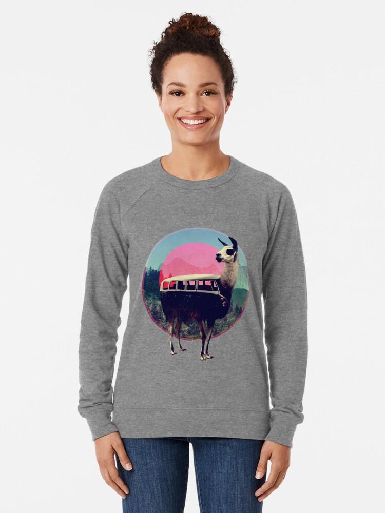 Alternate view of Llama Lightweight Sweatshirt