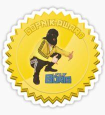 Gopnik Award 2.0 sticker Sticker
