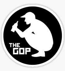 The Gop sticker Sticker