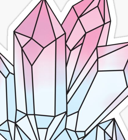 Holographic Crystal Sticker