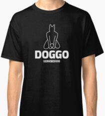 "Nerdy Doggo ""Doggo"" Classic T-Shirt"