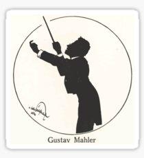 Gustav Mahler by Hans Schliessmann 12 Sticker