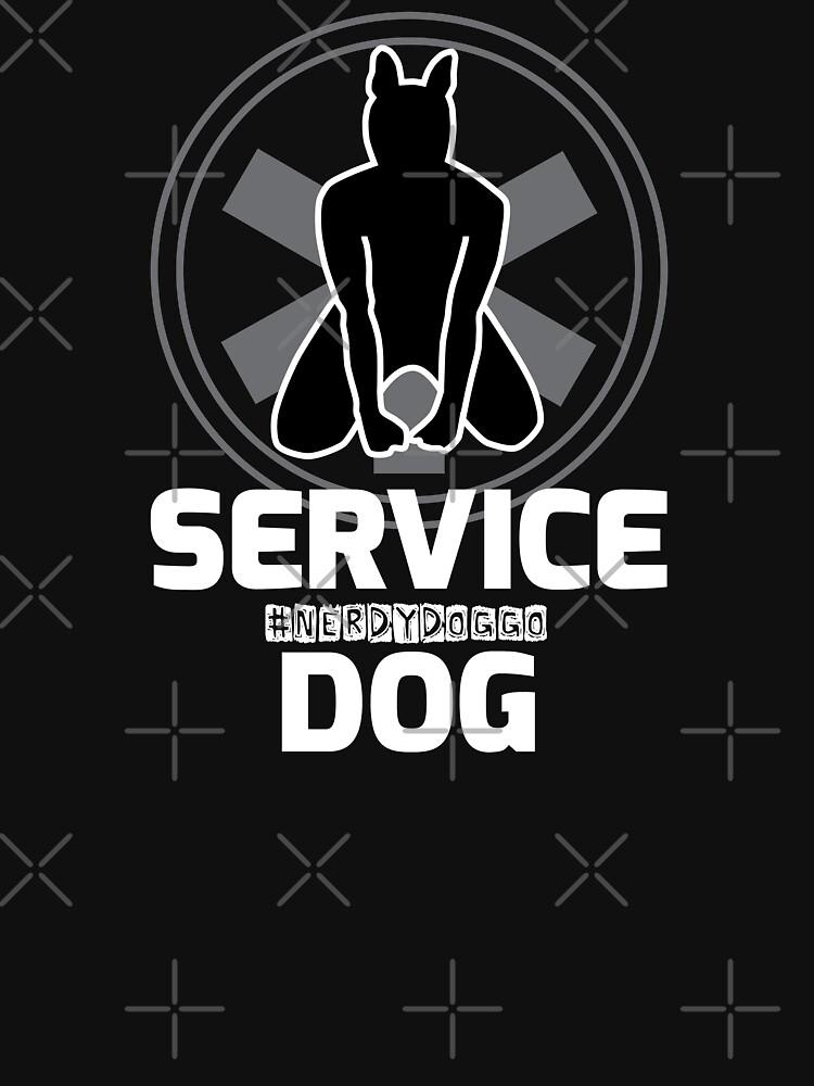 Nerdy Doggo Service Dog by NerdyDoggo