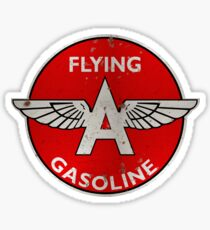 Flying A Gasoline rusted version Sticker