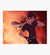 Red Paladin Photographic Print