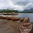 Boats by Derwentwater by jacqi