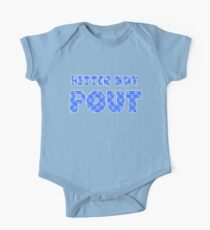 Better Not Pout Holiday One Piece - Short Sleeve
