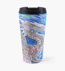 Cherry Blossom Dragon Travel Mug