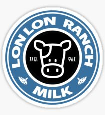 Legend of Zelda: Ocarina of Time Lon Lon Ranch Milk Sticker