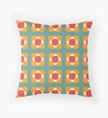 Intersection [seedpods] Throw Pillow