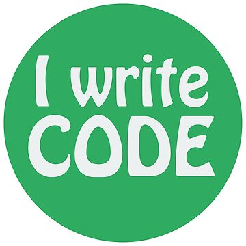 I write code by giovybus