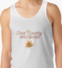 Door County Wisconsin Fall Colors Tank Top