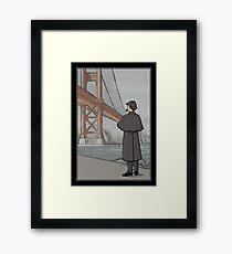 Sherlock Holmes in San Francisco Framed Print