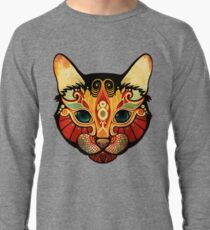 the cat Lightweight Sweatshirt