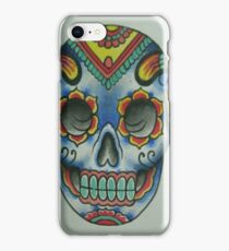 Tibetan Mandala Sugar Skull iPhone Case/Skin