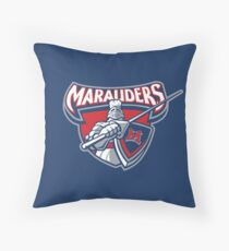 Miller Marauders Logo Throw Pillow