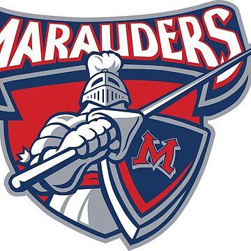 Miller Marauders Logo by madeinsask