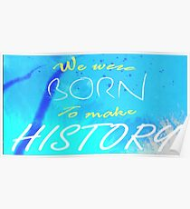 History Makers Yuri!!! On Ice Poster