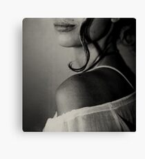 your curl Canvas Print
