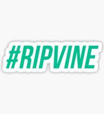 RIP Vine - Green Sticker