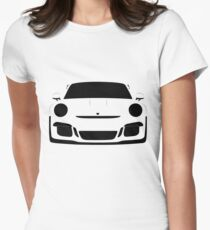Porsche 911 GT3 RS Women's Fitted T-Shirt