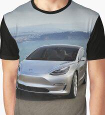Tesla Model 3 Graphic T-Shirt