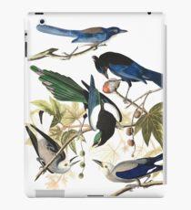 Magpies, Jays & nutcrackers - John James Audubon iPad Case/Skin