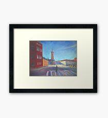 Stockholm Cityscape Framed Print