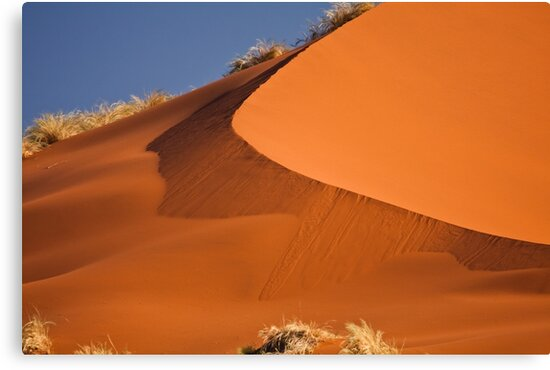 Red sand falls as silk by Owed To Nature