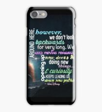 Keep Moving Forward iPhone Case/Skin