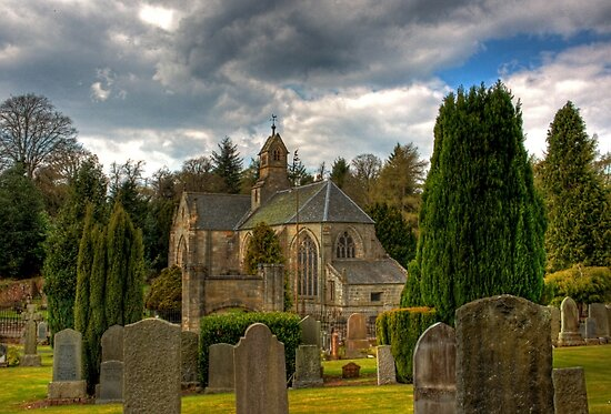Mid Calder Church by Tom Gomez