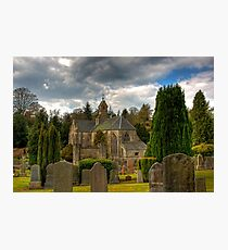 Mid Calder Church Photographic Print