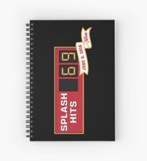 The Nicest Splash Hit Spiral Notebook