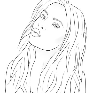 Ashley Benson Outline by jana95s