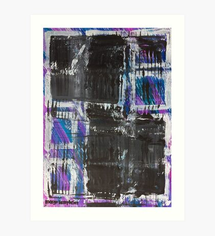 The Grid by Margo Humphries Art Print