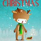 Xmas Rudolph Raindeer  by capdeville13