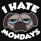 I Hate Mondays by DetourShirts