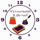It's P-nut Butter & Jelly Time! by 2HivelysArt