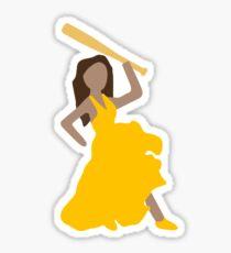 Beyonce Emoji Hot Sauce Bat Sticker