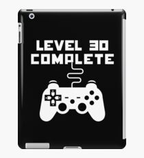 Level 30 Completed iPad Case/Skin