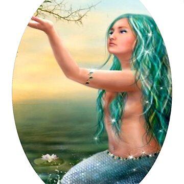 mermaid  by komsiah