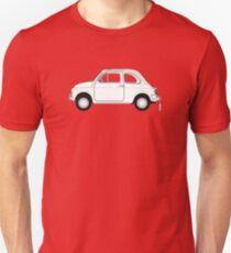 Fiat 500 Vintage Car Unisex T-Shirt