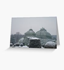 Austria in winter Greeting Card