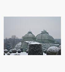 Austria in winter Photographic Print