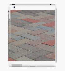 Pavement patterns 2 iPad Case/Skin