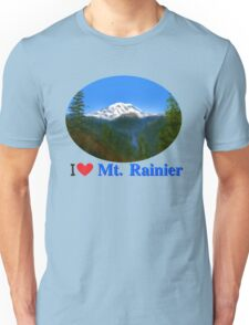 Mt Rainier Unisex T-Shirt