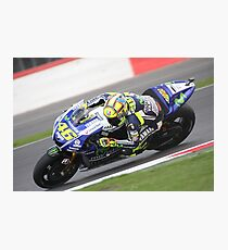 Valentino Rossi MOTO GP Photographic Print