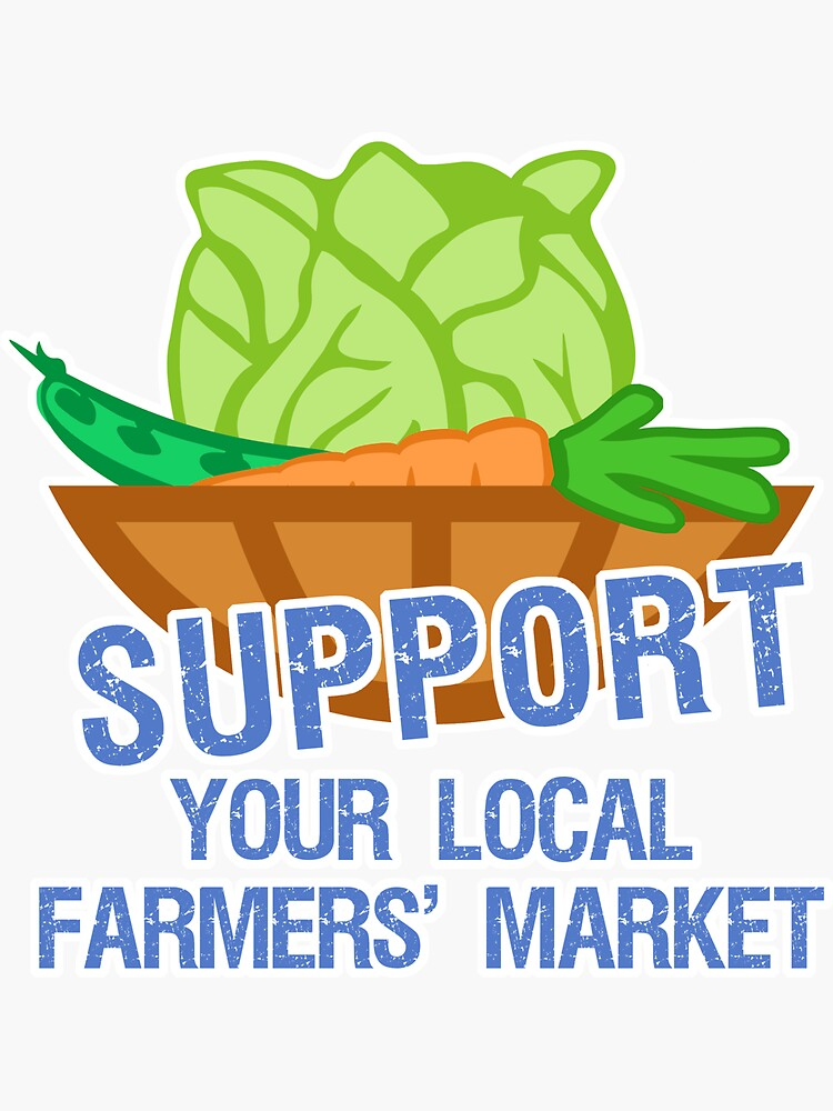 Support Your Local Farmers' Market by evisionarts